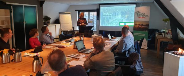 Stakeholdermeeting Green Knowledge Portal Twente – Green Metropolitan Twente