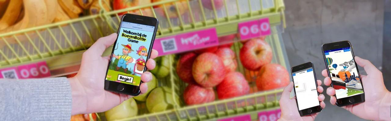 ACHIEVE: een spel in de supermarkt om gezonde keuzes te maken